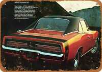 Metal Sign - 1969 Dodge Charger R/T - Vintage Look Reproduction