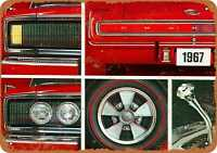 Metal Sign - 1967 Dodge Charger - Vintage Look Reproduction 3