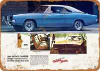 Metal Sign - 1969 Dodge Charger - Vintage Look Reproduction 2