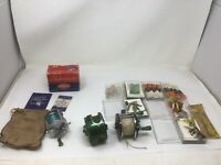 Fishing Reel Lot Shakespeare 1960 Criterion Model GE Bait Casting W/ Box Lures +