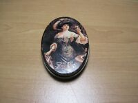 Vintage Pepsi Cola Mini Oval Tin with Lid, Gibson Girl - Extremely Rare