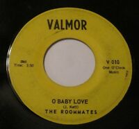 THE ROOMMATES Band Of Gold O Baby Love 45 VALMOR 10 Doo Wop Ramp;B 1961
