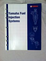 YAMAHA FUEL INJECTION SYSTEMS MANUAL W/ DVD ATV MOTORCYCLE SCOOTER OEM