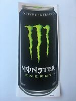 Monster Energy Drink Sticker Decal Logo Can Large
