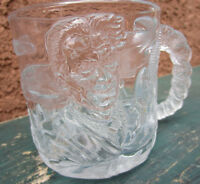 Batman Forever Glass Mug Cup McDonalds Vintage 1990s DC Comics
