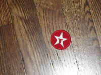 texaco vintage patch circle 1.75quot;x1.75quot; new old stock 1960#x27;s