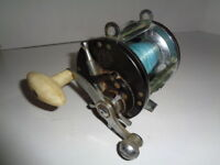 Ocean City No. 167 Fishing Reel, Casting U.S.A. Working VG+ Condition