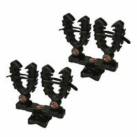 Rhino Grip XL Rack Mount Rifle Double Gun Tool Bow Pole Holder UTV ATV