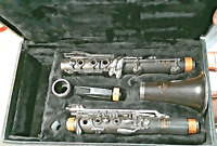 VINTAGE NOBLET CLARINET  PARIS OVERHAULED BY MASTER TECH  WOOD BODY  W/CASE EXC