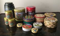 Lot of European Tins