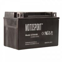 Motosport Maintenance-Free Battery with Acid GTX9BS GTX9-BS for ATV/UTV