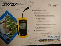 FF108-1 Portable Fish Finder, New (open box)