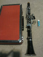 Vintage Vito Soprano Clarinet with Hard Case plastic Made In USA
