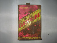 Vintage Metal One Gallon Gas Can Nice Barn Find!
