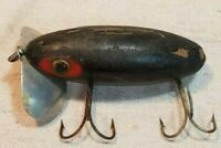 RARE Vintage 1938-1940 Wooden Jitterbug Lure by Fred Arbogast