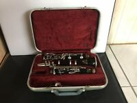 Vintage Buescher Super Aristocrat Clarinet With Case