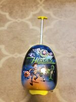 Disney by Heys Toy Story Heroes in Training Rolling 18 in Hard Sided Suitcase
