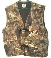 Mossy Oak Apparel Hunting Vest Size M-L Realtree Camouflage  Dove Turkey Vented