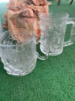 Vintage McDonalds Batman Forever Glasses. Set of 6 Cups -1995