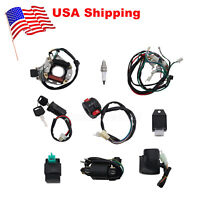 【US】 ATV Wiring Harness CDI Assembly Wiring Kit for ATV QUAD 50 70 90 110CC