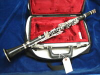 BUFFET-CRAMPON Bb CLARINET model RC made in France in 1977, NEW PADS, WARRANTY!