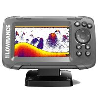 Lowrance HOOK² 4x Fish Finder w/ Bullet Skimmer Transducer, NO GPS 000-14012-001