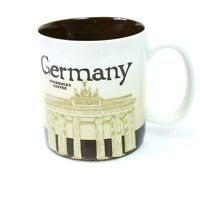 Starbucks Coffee Mug 16oz Germany Deutschland 2011 Global Icon Collectors Series