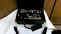 Selmer 1401 Clarinet with Case Cork Grease 1 Reed Reed Guard and Cleaning Cloth