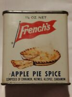 Vintage French's Apple Pie Spice Tin - Rochester  N.Y. - The R.T. French Co.