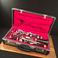 Vintage Clarinet H. EA. Selmer HS France w Bundy Case PRIORITY MAIL