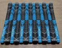 13x Golf Pride MCC Plus 4 Multicompound Golf Grips Blue Midsize set