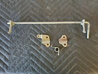 Honda ATC250SX 1985 - seat latch assembly