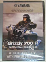 YAMAHA OUTDOORS GRIZZLY 700 FI ATV 2008 DVD FACTORY OEM COMPETITIVE COMPARISON