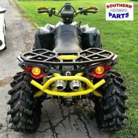 WILD BOAR REAR RACK CAN AM RENEGADE  ALL YEARS ALL MODELS  BLACK