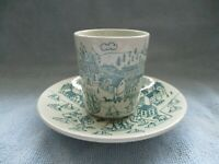 Danish Nymolle Art Faience Hoyrup Limited Edition 6007 Cup and Saucer
