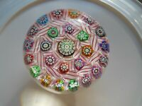 Art Glass- Perthshire Special Edition Paperweight- Millefiori- Dated Cane- #239