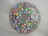 Perthshire Paperweight- Closepack Millefiori Canes- Numbered 16- Dated- #238