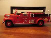 First Gear 1960 Mack Pumper Open Cab B-Model with D.C.F.D Logo 19-2455