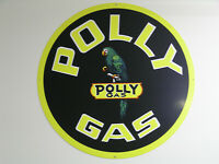 Polly Gas Vintage Style Sign, Large 25
