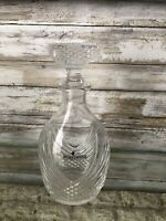 Baccarat Courvoisier Crystal Vintage Decanter With Stopper
