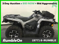 2014 Can-Am OUTLANDER 1000 XT (MAGNESIUM) CALL (877) 8-RUMBLE Used