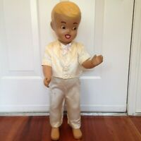 VTG BUSTER BROWN  STORE COUNTER DOLL MANNEQUIN DISPLAY 25'' APROX