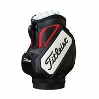 2018 Titleist Golf Den Caddy Golf Bag COLOR: Black with White/Red