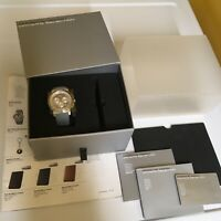 PORSCHE DESIGN SELECT MAGAZINE DRIVERS SELECTION NOS 911 CHRONOGRAPH WATCH. NIB.