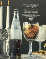 Tab Soda Pop Cola Magazine Print Ad Vintage 1964 Original Drink Candles Grocery