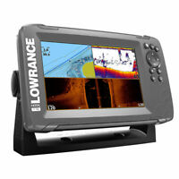 Lowrance HOOK2-7 TripleShot Transducer and US / Canada Nav plus Maps Fishfinder