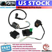 For 50cc 70cc 110cc Regulator Rectifier Relay Ignition Coil CDI Chinese ATV Quad