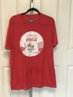 Coca Cola Rio 2016 Olympics Dave and Busters Mens XL T Shirt New No Tags