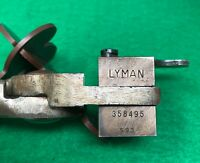 Lyman #358495 Mould Block with Handles - .38 Special - Single Cavity