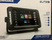 Lowrance Elite-9 Ti Chartplotter/Fishfinder w/TotalScan Transom Mount Transducer